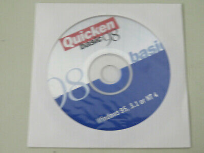 INTUIT QUICKEN BASIC 98 CD-ROM for Windows 95 / 3 1 or NT 4