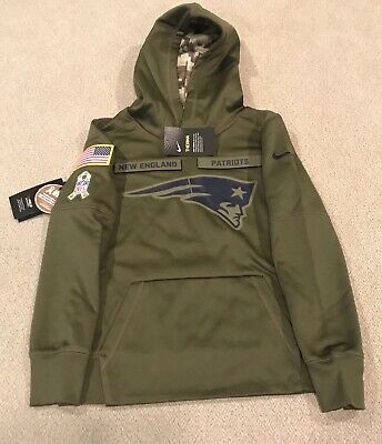more photos 8d028 a72a5 YOUTH NIKE SALUTE To Service NFL Chicago Bears Hoodie Green ...