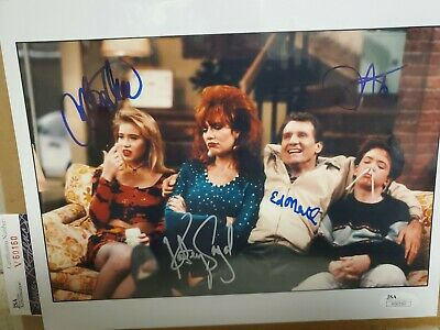 GLOSSY PHOTO PICTURE 8x10 Married With Children Cast