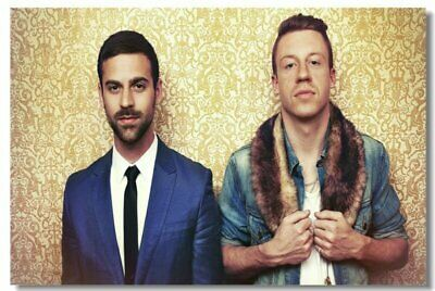 Poster Macklemore Ryan Lewis Ben Haggerty Club Wall Art Print 206