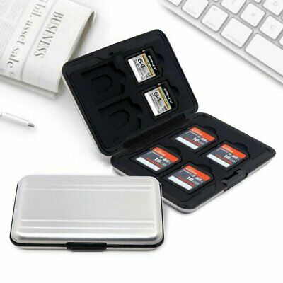 Waterproof Memory Card Case Storage Box Holder for Micro SD SDXC SDHC TF Card #3
