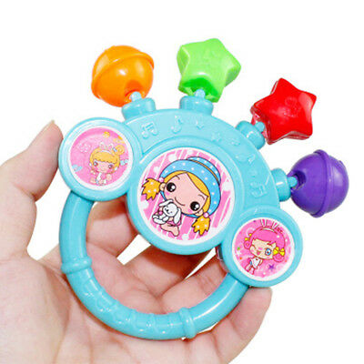 7Pcs Practical Baby Bell Rattles Educational Toy Develop Baby Intelligence Toy