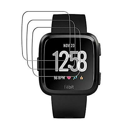 6x Protective Film for Fitbit Versa Screen Clear