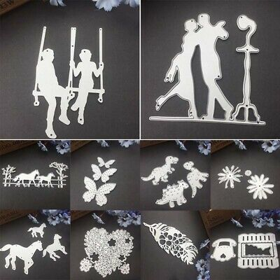 22 Patterns Metal Cutting Dies for DIY Crafts Scrapbooking Embossing Paper Cards