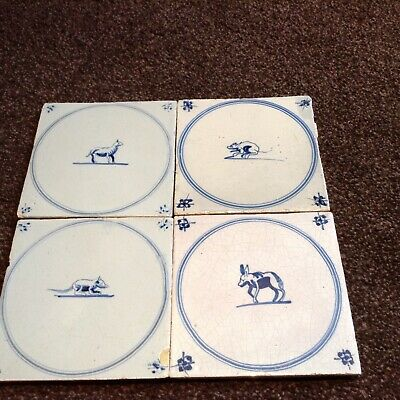 Dutch delft tiles