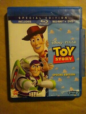 DISNEY TOY STORY - 2 Discs - DVD & Blu Ray Set - Used