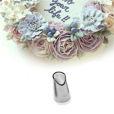 402 Cake Cream Flower Tips Decorating Stainless Steel Pastry Icing Nozzle F4