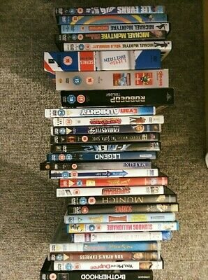 33 DVDs JOBLOT BUNDLE CARBOOT