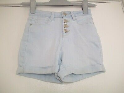 girls bleached denim shorts from new look aged 12yrs