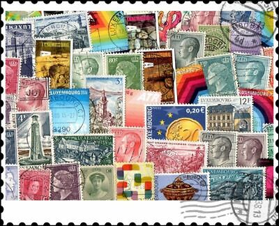 Luxembourg : 200 Different Stamps Collection