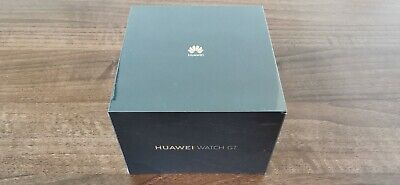 Huawei Watch GT Black Stainless Steel Case with Graphite Black Silicone Strap