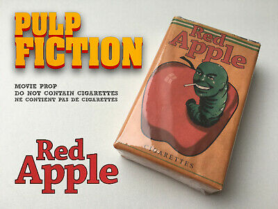 Red Apple Cigarettes pack TARANTINO Pulp Fiction Once upon a time Hollywood PROP