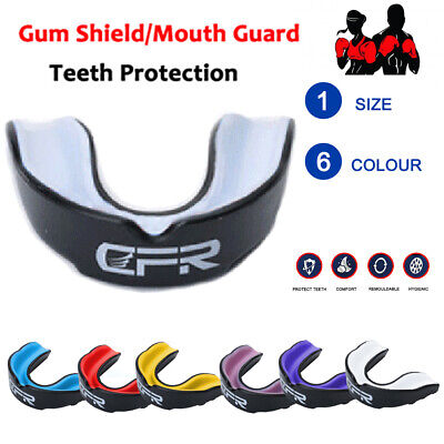 CFR Gel Shockproof Sports Mouth Guard ¦ Teeth & Gum Shield for MMA Boxing Rugby