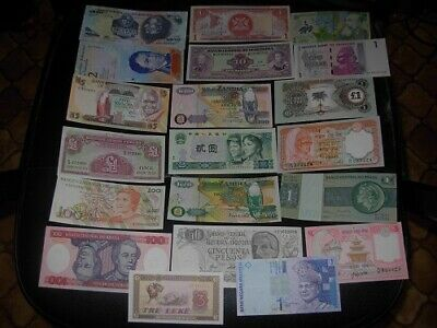 lot billets du monde