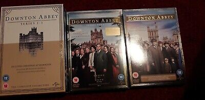 Downton Abbey D V D Complete Series 1 To 5 (17 Discs) BBC award Winning Drama