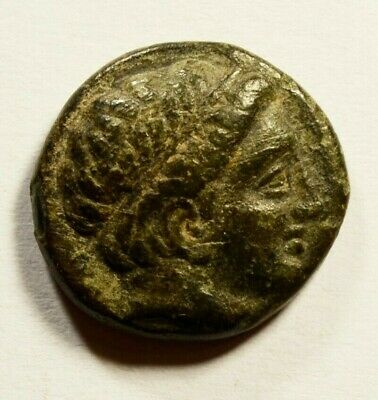 PHILIP II Alexander III father Olympic Games Ancient Greek Coin HORSE
