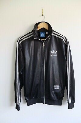 limited guantity hot sales finest selection RARE ADIDAS CHILE 62' Tracksuit jacket S Black/Silver ...