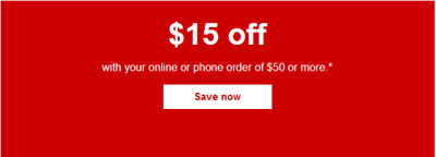 2x STAPLES Coupon $15 off Of $50  Purchase - Expires 08/25/2019