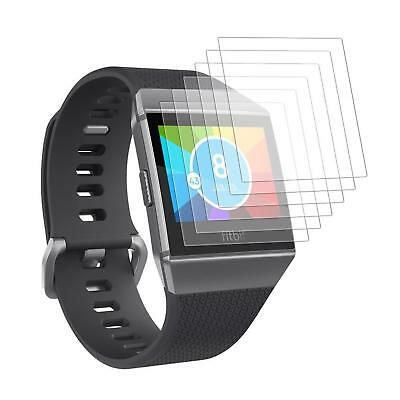 6x Protective Film for Fitbit Ionic Screen Clear