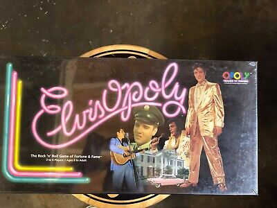 1995 Elvisopoly Game VINTAGE Game MINT CONDITION UNOPENED