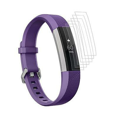 6x Protective Film for Fitbit Alta / Hr Screen Clear