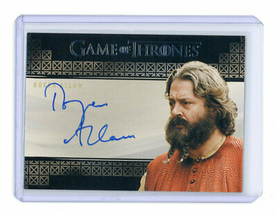 Game of Thrones Inflexions Roger Allam as Magister Illyrio Auto Autograph Card
