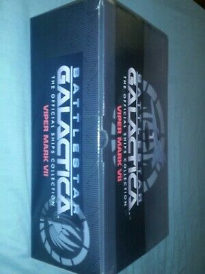 Eaglemoss Battlestar Galactica Viper Mark VII  brand new in box with magazine