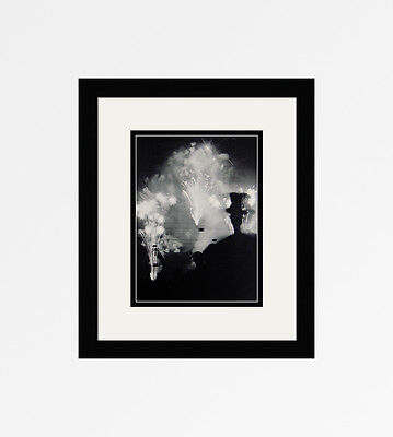 "Neat 1930s BRASSAI Antique Photogravure ""Celebration with Fireworks"" FRAMED COA"