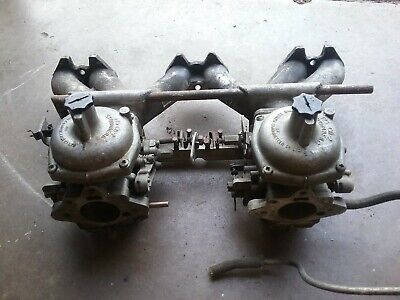 Triumph TR6 Stromberg 175 Carburrettors and Inlet Manifold,