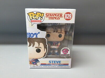 Funko POP! Television Stranger Things Baskin Robins Exclusive Steve #829 NIB