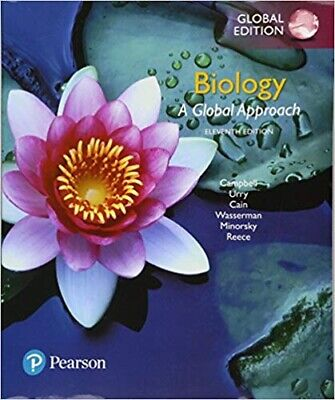 Campbell Biology by Lisa Urry, Cain (11th International Edition ) -Paperback