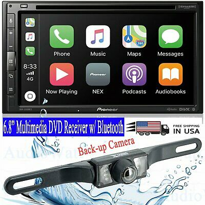 Pioneer AVH-2500NEX Double DIN DVD Player Bluetooth Mirrors iPhone CarPlay + cam
