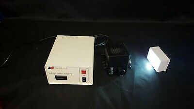 Nikon Microscope HBO Mercury 100W Hg Lamp House and CHIU Power Supply - TESTED