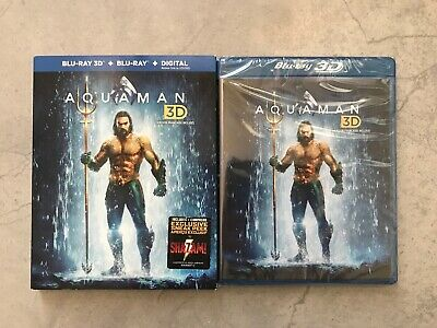 Aquaman (3D Blu-ray + Blu-ray + Digital, Bilingual)