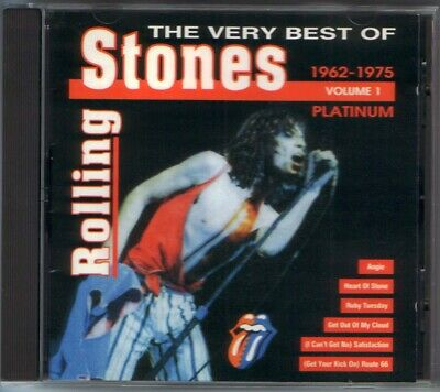 ROLLING STONES -  The Very Best of Vol.1 , 1962-1975 - RARE UNIQUE BULGARIAN CD