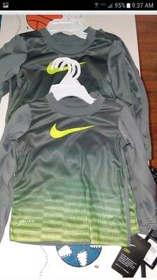 Nwt New With Tags Long Sleeve Nike Dri-Fit Shirt Size 3T