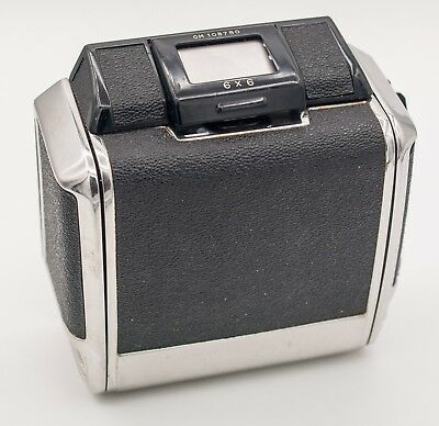 Untested - Zenza Bronica 6x6 Medium Format SLR Camera 120 Film Back For S S2