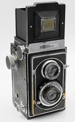 Rare - Zeiss Ikon Ikoflex II 120 Film TLR Camera w/ Tessar 75mm F3.5 Lens
