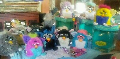 Tiger OG 1998 Furby - 1999 Furby Babies Lot G-VG+ All in working condition- Tags