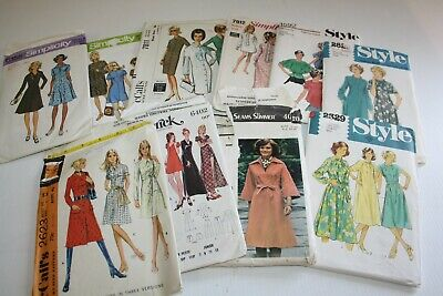 Bulk Vintage Ladies Sewing Patterns