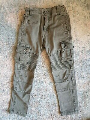 St Goliath Boys Cargo Pants, Size 4