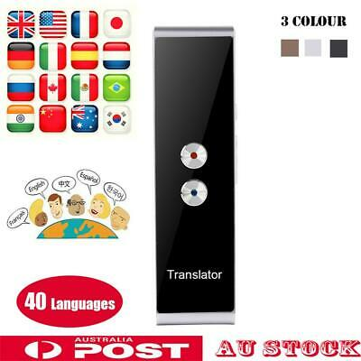 Smart Instant Voice Translator 40 Languages Speech Interactive Translation Tool