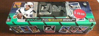 2018 Panini Donruss NFL Football Sealed Factory 400 Card Set + RC Threads Pack
