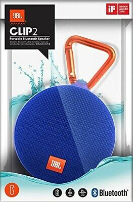Jbl Clip2 * Portable Waterproof Bluetooth Speaker * Brand New !