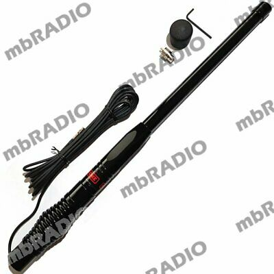 Gme Ae4704B Uhf H/D Antenna With H/D Spring, Low Loss Cable & Pl259 Plug *Black*