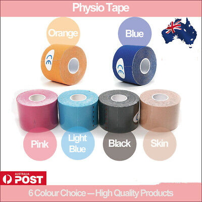 Kinesiology PHYSIO Tape High Quality ATHLETIC SPORTS ROCK MUSCLE 25/50mmx5m