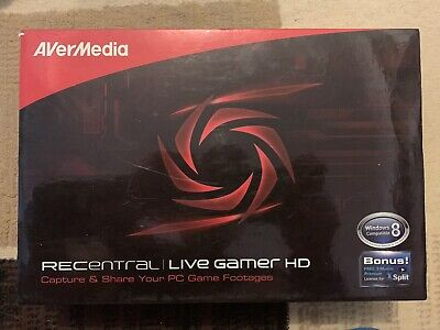 AverMedia RECentral Live Gamer HD 1080p (Streaming And Recording)