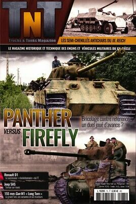 TRUCKS AND TANKS N°75 - Revue neuve - Panther vs Firefly
