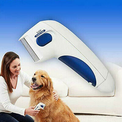 Cat Dog Electric Head Anti Removal Headlice Brush Flea Tick Lice Killer Cleaner
