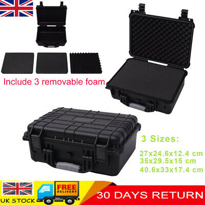 Protective Equipment Hard Carry Case Plastic Box Camera Protect Removable Foam